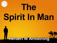 Listen to  The Spirit In Man