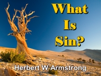 Listen to  What Is Sin?