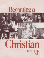 Becoming a Christian