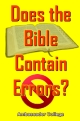 Does the Bible Contain Errors?