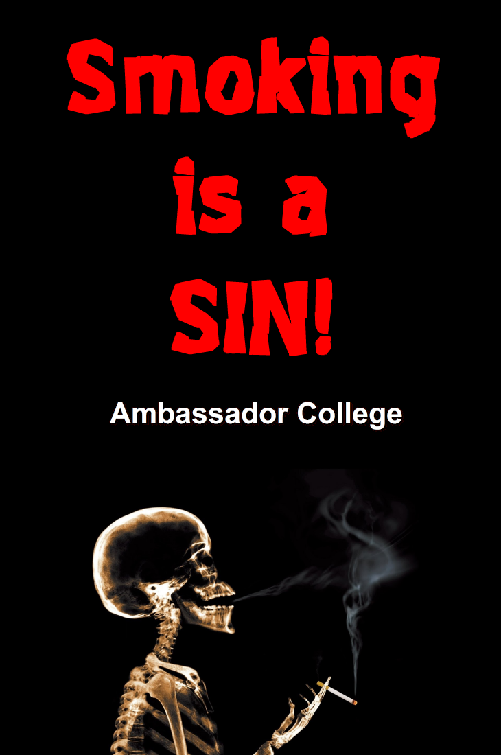 Smoking is a SIN!