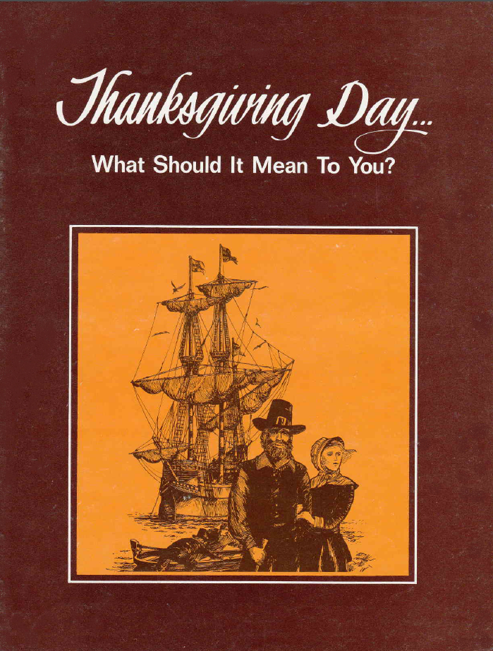 Thanksgiving Day... What Should It Mean To You?