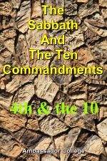 The Sabbath And The Ten Commandments