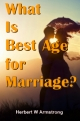 What Is Best Age for Marriage?