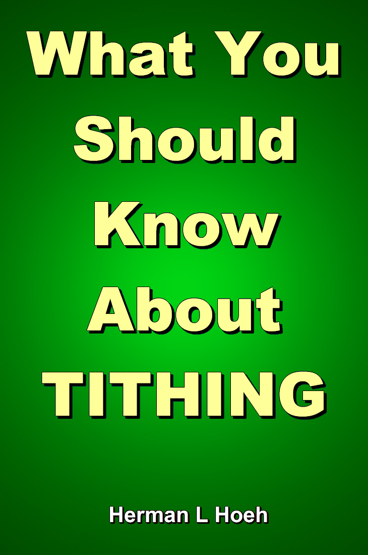 What You Should Know About TITHING