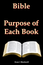 Bible - Purpose of Each Book