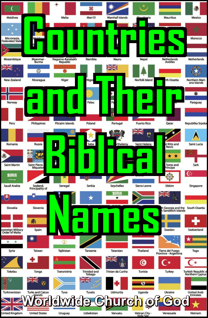 Countries and Their Biblical Names