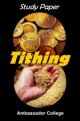 Study Paper Tithing