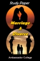 Study Paper Marriage And Divorce