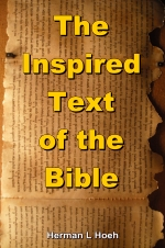 The Inspired Text of the Bible