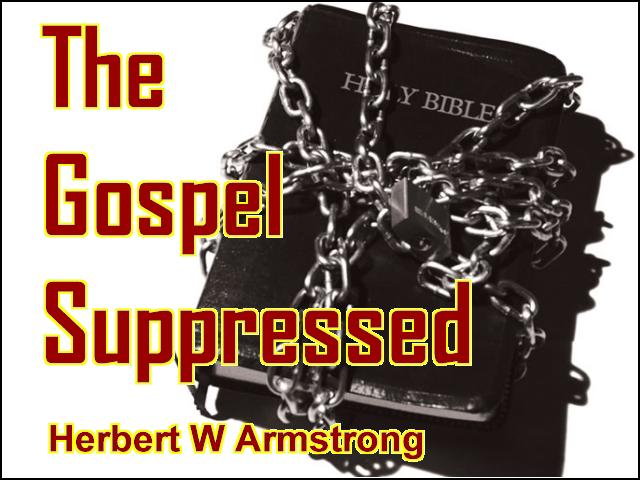 The Gospel Suppressed