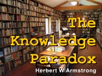Watch  The Knowledge Paradox