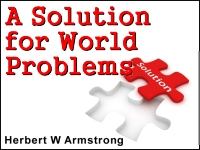 Watch  A Solution for World Problems