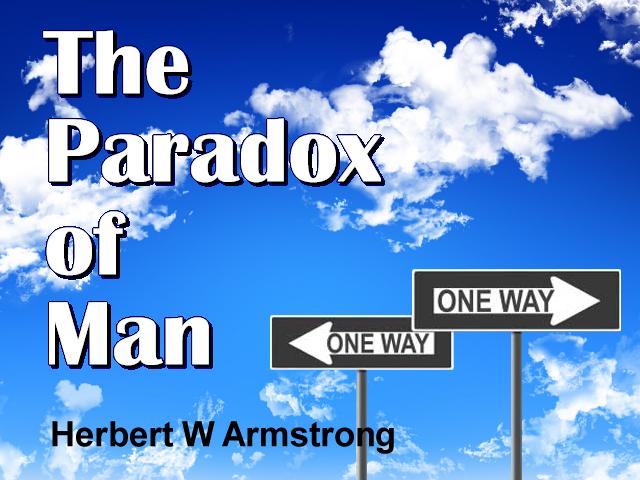 The Paradox of Man