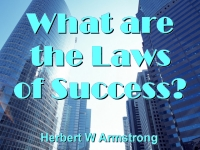 Watch  What are the Laws of Success?