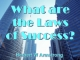 What are the Laws of Success?