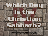 Watch  Which Day is the Christian Sabbath?