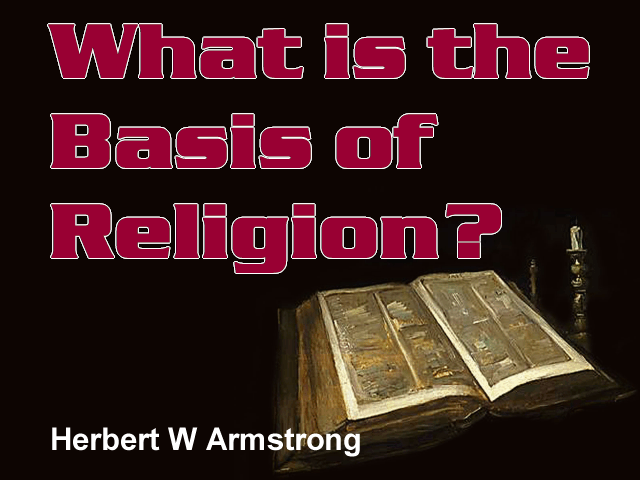 What is the Basis of Religion?