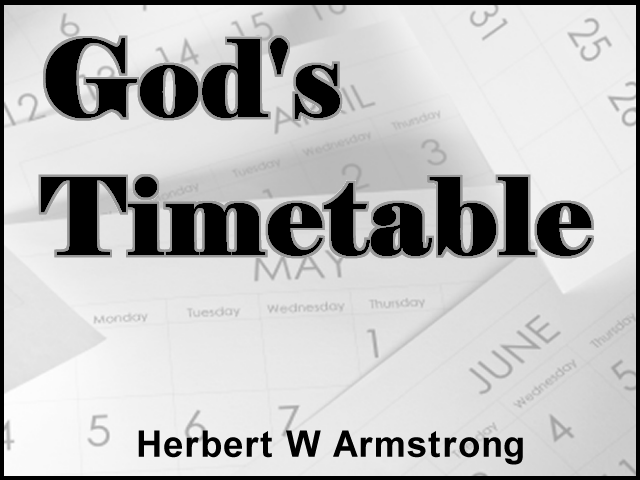 God's Timetable