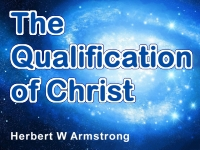 Watch  The Qualification of Christ