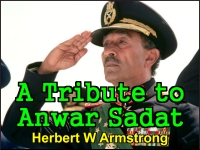 Watch  A Tribute to Anwar Sadat