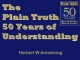 The Plain Truth - 50 Years of Understanding