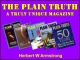 The Plain Truth - A Truly Unique Magazine