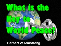 Watch  What is the Key to World Peace?