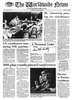 Worldwide News January 03, 1977 Headlines
