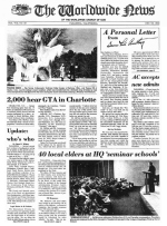 Worldwide News January 17, 1977 Headlines