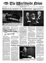 Worldwide News January 20, 1975 Headlines
