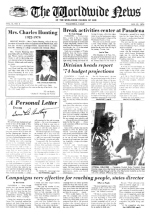 Worldwide News January 21, 1974 Headlines