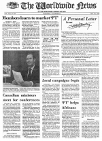 Worldwide News February 28, 1977 Headlines