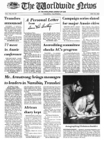 Worldwide News March 28, 1977 Headlines