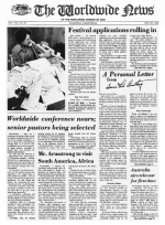 Worldwide News May 10, 1976 Headlines