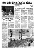 Worldwide News May 12, 1975 Headlines