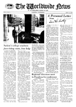 Worldwide News May 14, 1973 Headlines