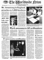 Worldwide News June 06, 1977 Headlines