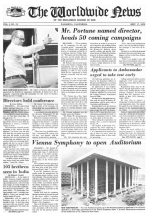 Worldwide News September 17, 1973 Headlines