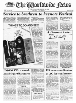 Worldwide News September 23, 1976 Headlines