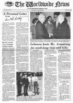 Worldwide News October 01, 1973 Headlines
