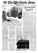 Worldwide News November 12, 1973 Headlines