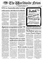 Worldwide News November 21, 1977 Headlines