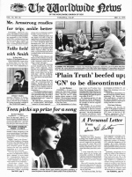 Worldwide News December 06, 1976 Headlines