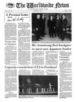 Worldwide News December 23, 1974 Headlines