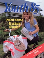 Young Designers Shift to High Gear Youth Magazine June-July 1985 Volume: Vol. V No. 6
